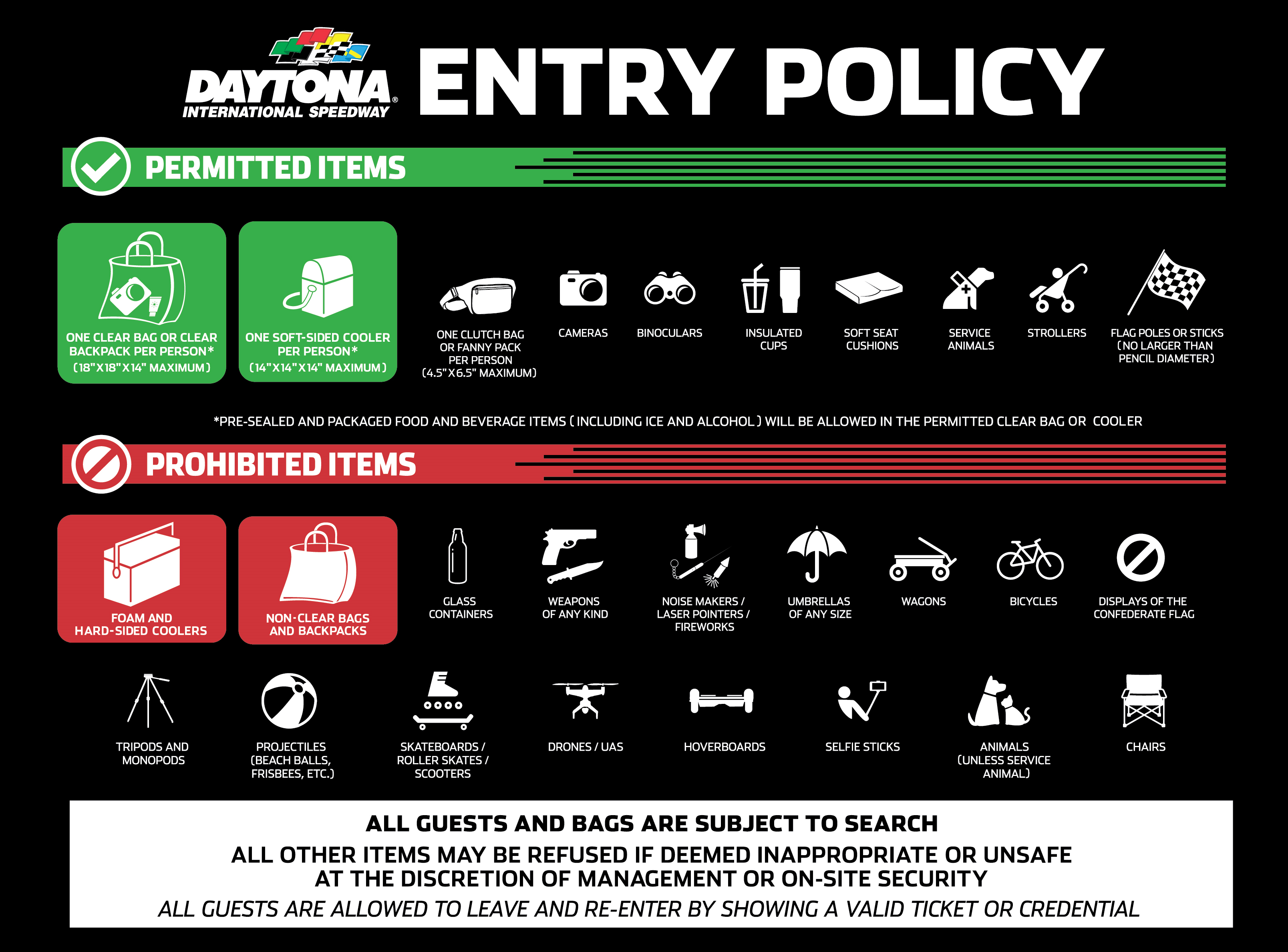 Entry Policy
