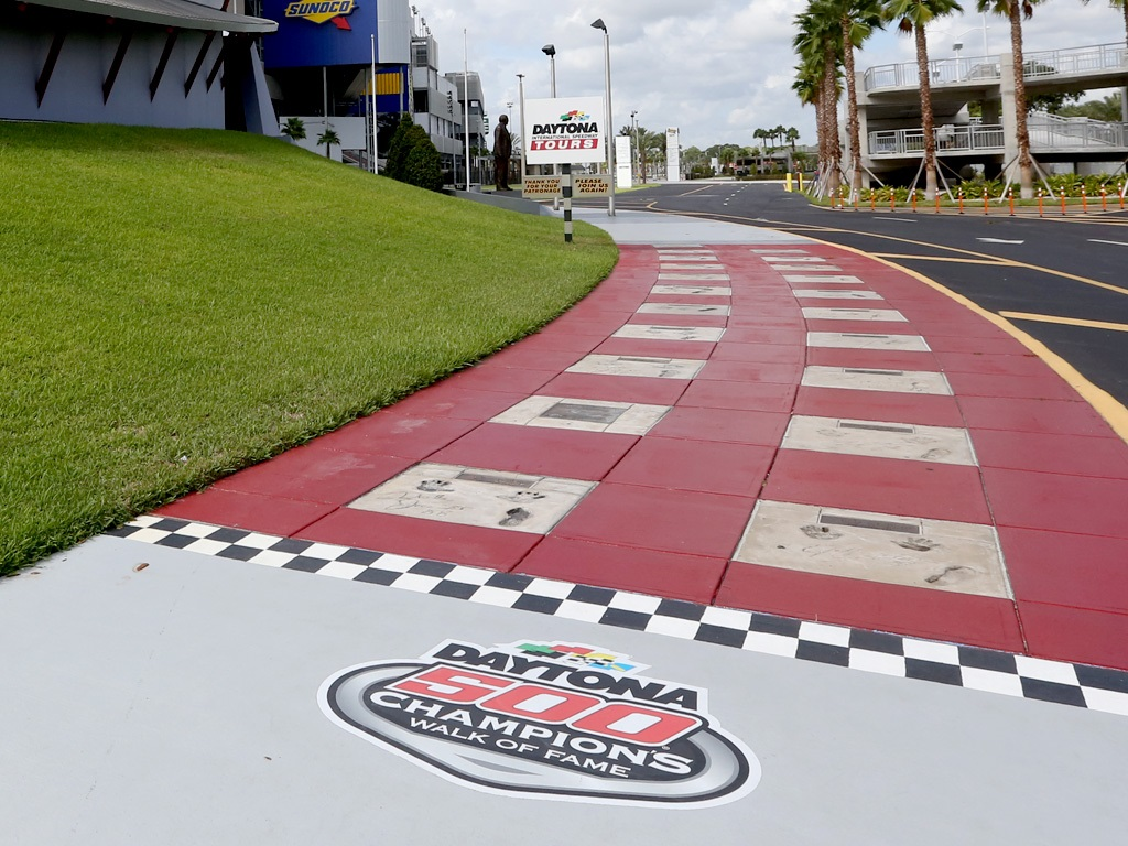 Daytona 500 Walk Of Fame